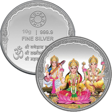 10 Grams Diwali Coin