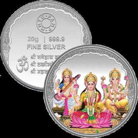 20 Grams Diwali Coin