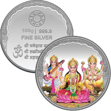 100 Grams Diwali Coin