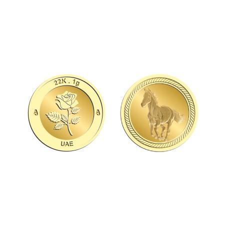 22k 1Gram Gold Coin