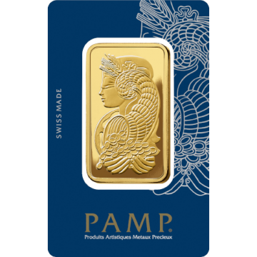 100 Grams PAMP Gold Bar