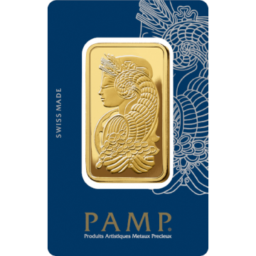 50 Grams PAMP Gold Bar