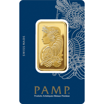 1 Ounce PAMP Gold Bar