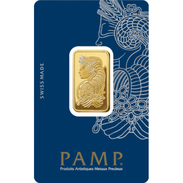 1/2 Ounce PAMP Gold Bar