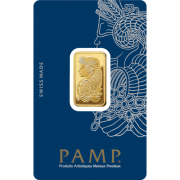 10 Grams PAMP Gold Bar