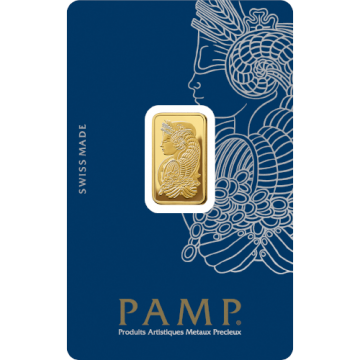5 Grams PAMP Gold Bar