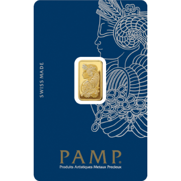 2.5 Grams PAMP Gold Bar