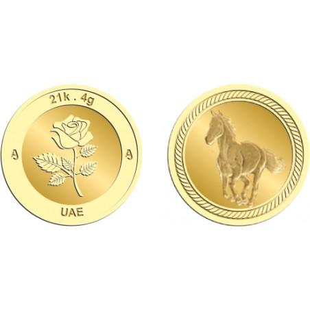 21k 4Gram Gold Coin
