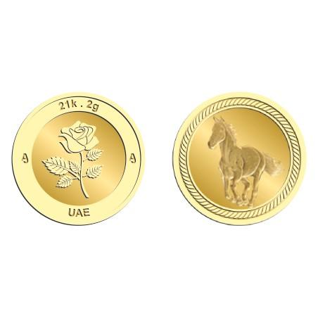 21k 2Gram Gold Coin