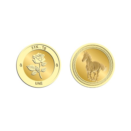 21k 1Gram Gold Coin