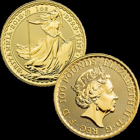 1 Ounce British Gold Britannia Coin