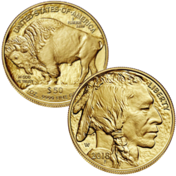 24k 1 Ounce American Gold...