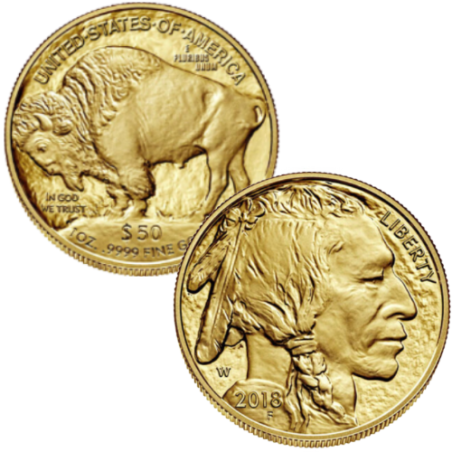 24k 1 Ounce American Gold Buffalo