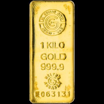 1 Kilo 999.9 Casting Gold Bar