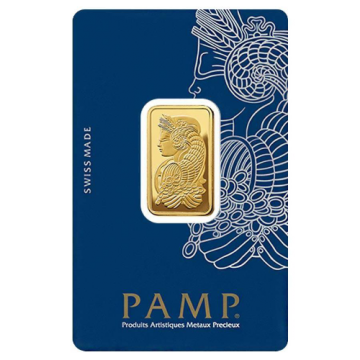1 Tola PAMP Gold Bar