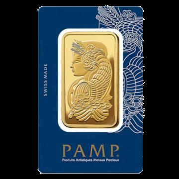 5 Tola PAMP Gold Bar