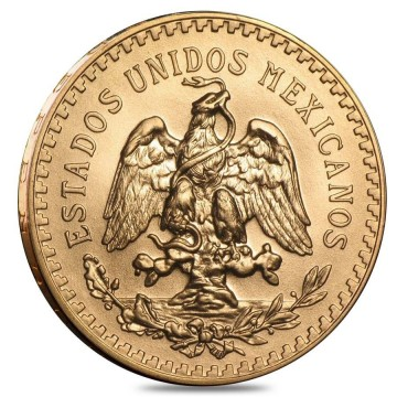 21k 50 Peso Mexican Gold Coin