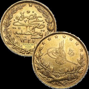 Turkey Lira 1.8Grams Gold Coin
