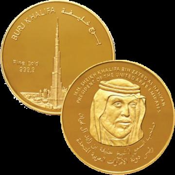 1/2 Ounce Burj Khalifa Gold...