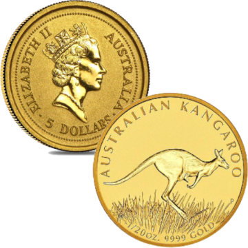 1/20 Ounce Australian Nugget