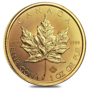 1 Ounce Canadian Maple Leaf