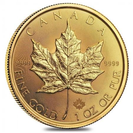 1 Ounce Canadian Maple Leaf