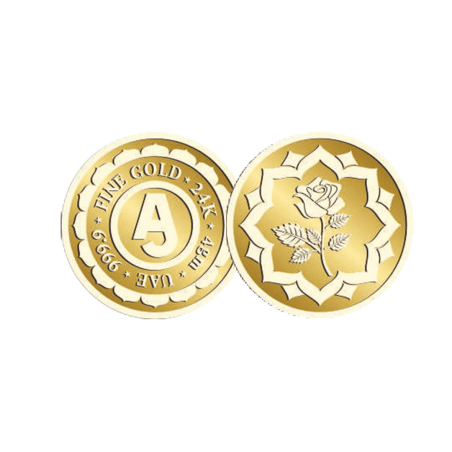 4 Grams Anjali Gold Coin